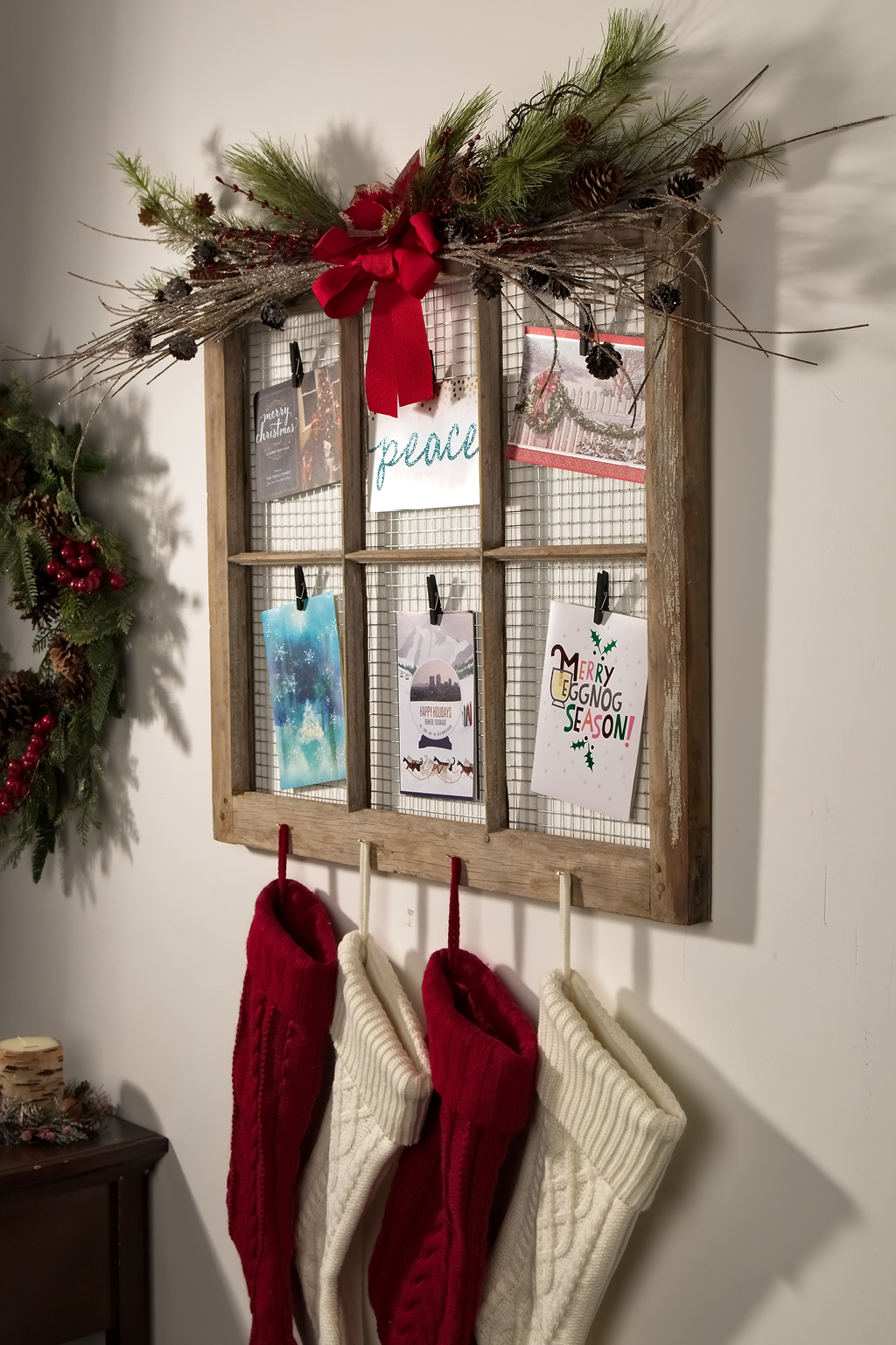 Stocking and Card Holder