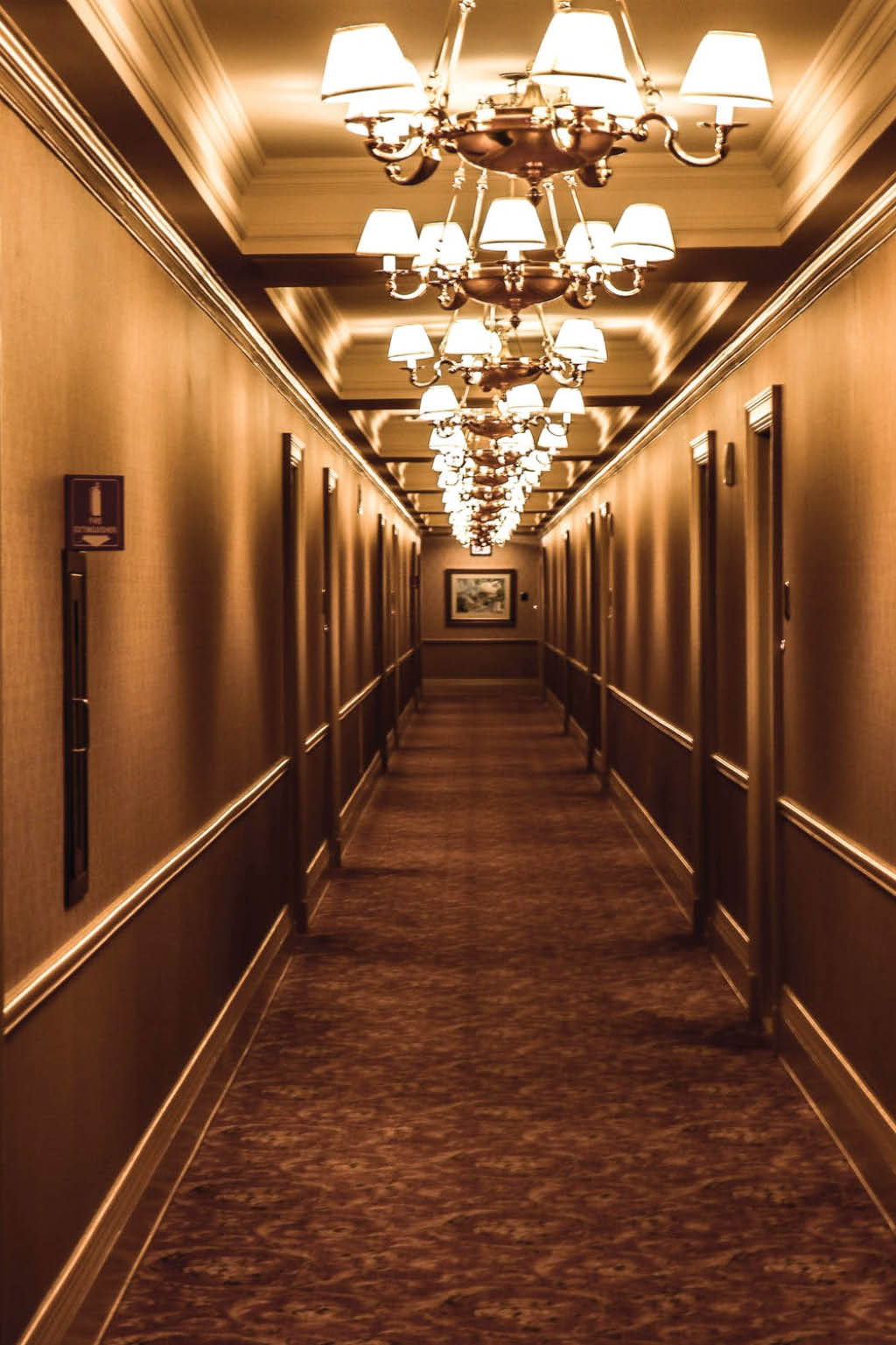 haunted hotel hallway